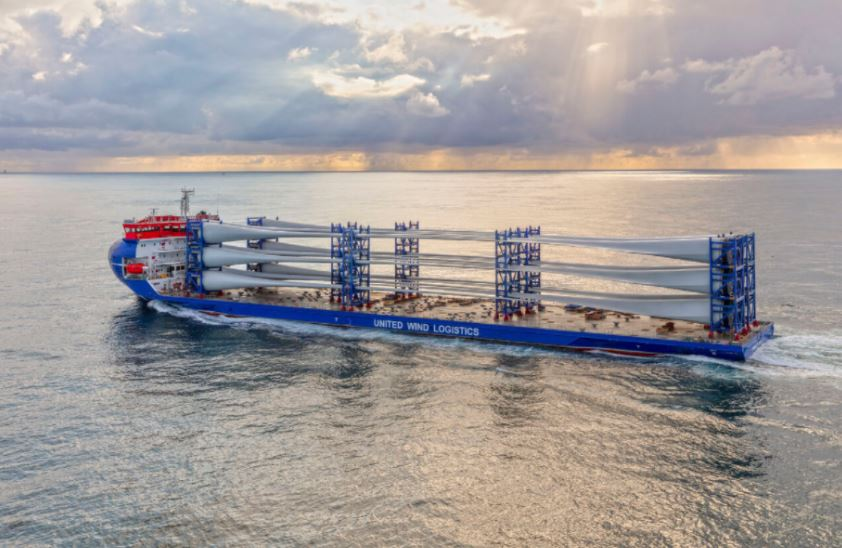 Second MHI Vestas deck carrier sails away to Europe