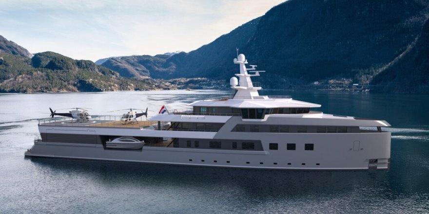 New 75-metre DAMEN SeaXplorer expedition yacht