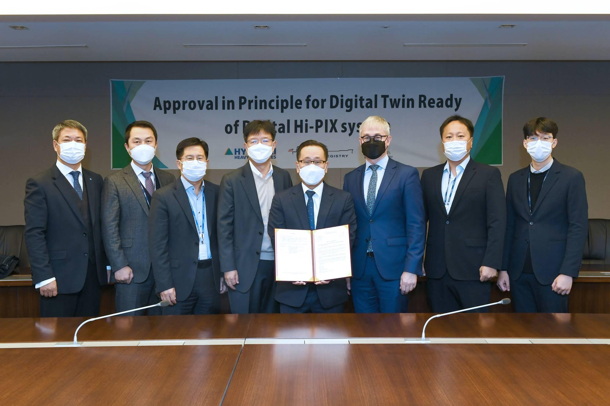 Hyundai Heavy develops Digital Health Management system