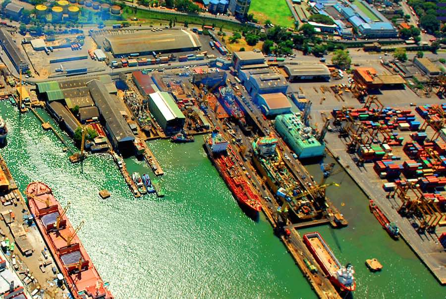 Colombo Dockyard resumes operations with regulatory health guidelines