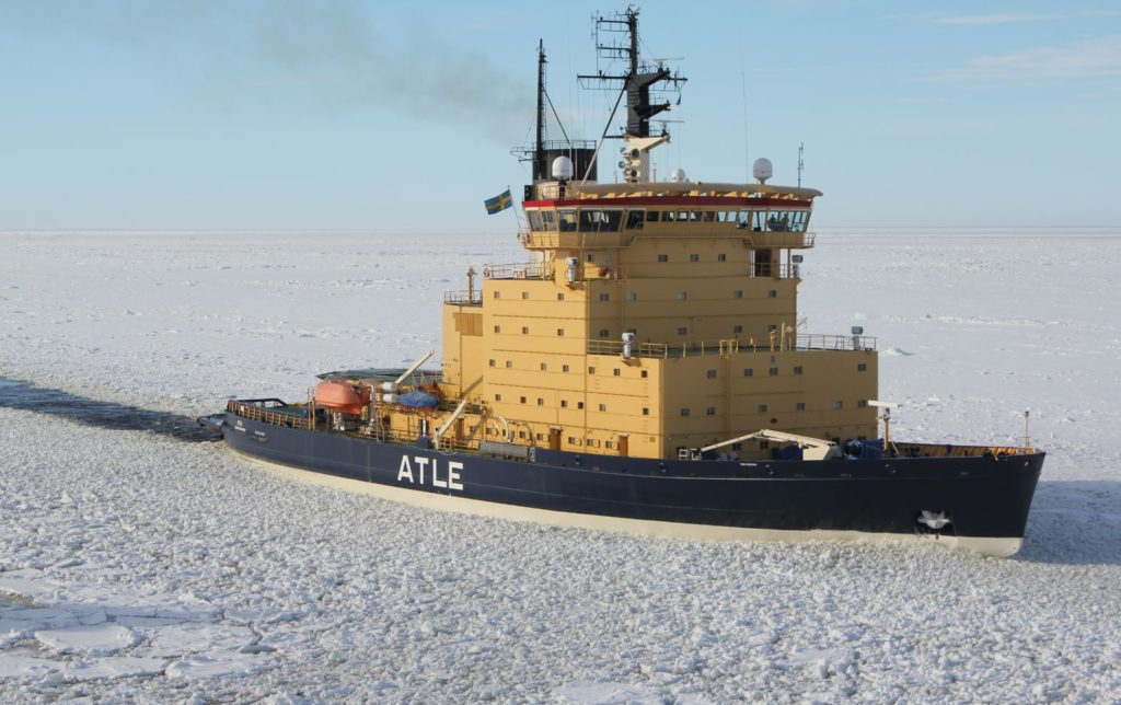 Aker Arctic to develop next generation icebreaker design for Finland and Sweden