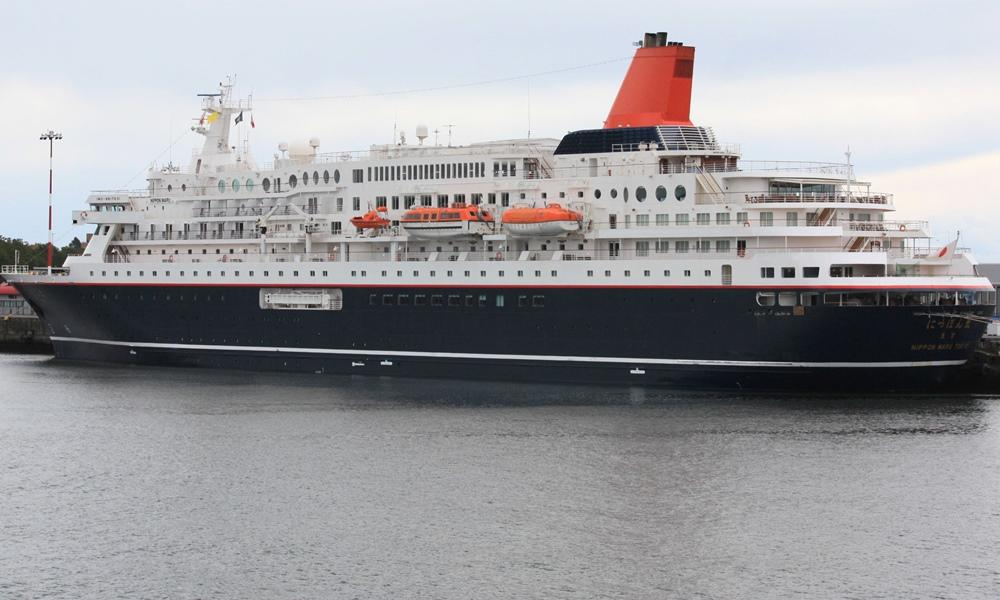 Cruise ship Nippon Maru makes resumption of service
