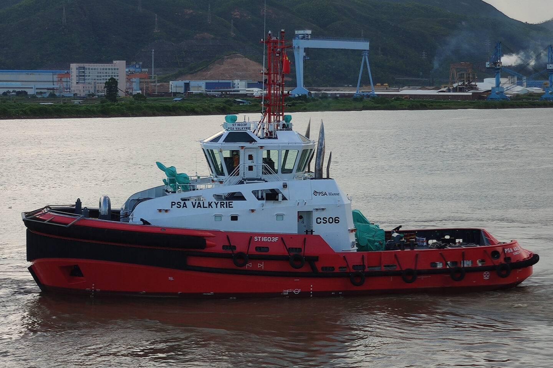 Singapore's PSA Marine receives two new tugs