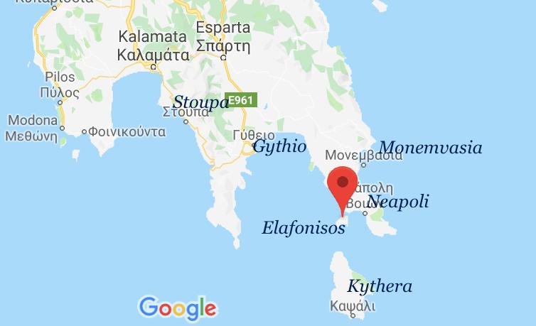 Cargo ship catches on fire off Elafonisos, Greece