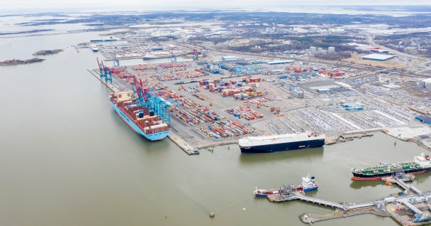 Gothenburg Port works to cut carbon emissions