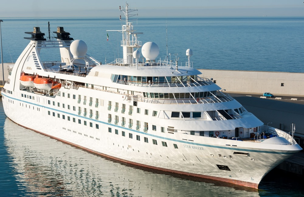 Fincantieri shipyard delivers Star Breeze to Windstar Cruises