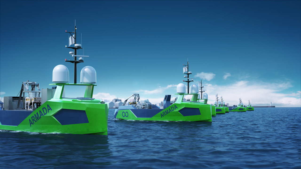Ocean Infinity expands its robotic vessels fleet