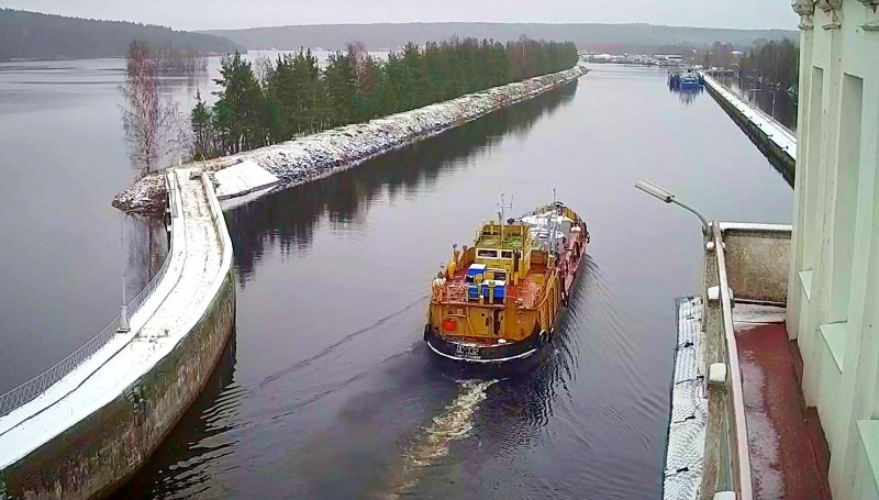 Locks of Volga-Baltic Administration is over