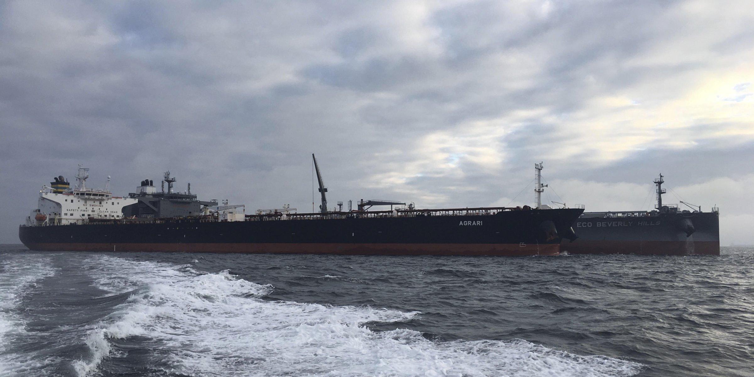 Greek-flagged vessel damaged by mine at Saudi terminal