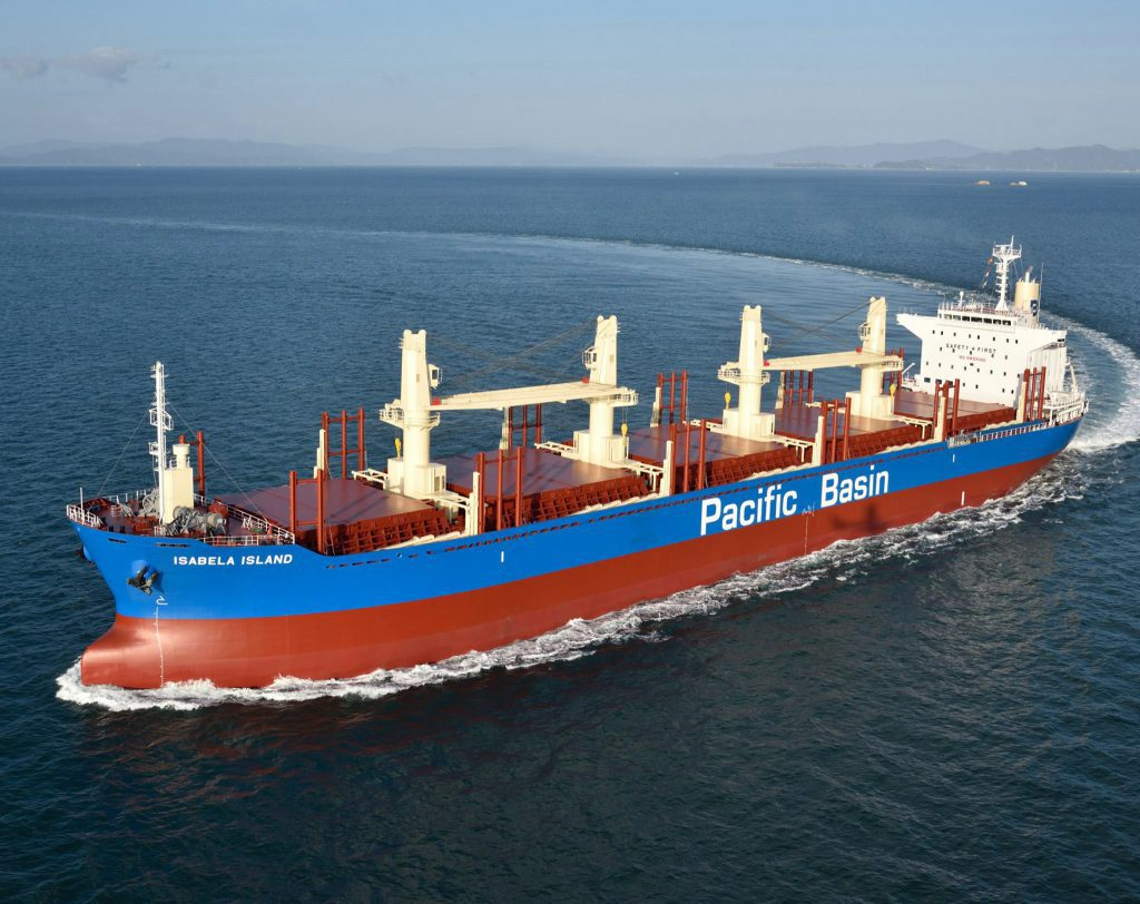 Pacific Basin buys four second-hand ultramax vessels