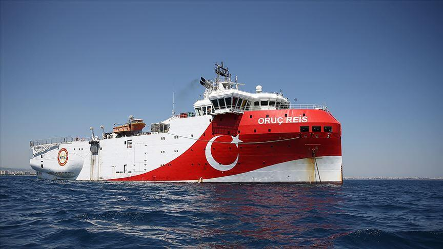 Oruç Reis survey vessel back in port ahead of EU summit