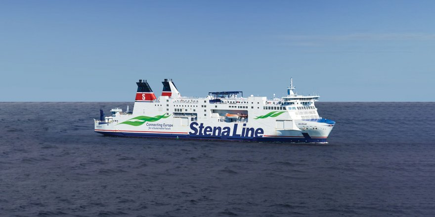 Stena Line receives its new ferry Stena Embla