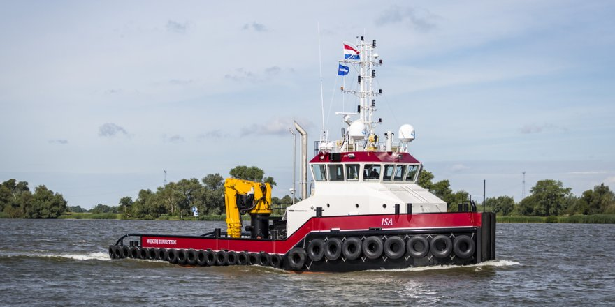 Damen Shipyards Group delivers Shoalbuster 3209 to ISA Towage B.V.