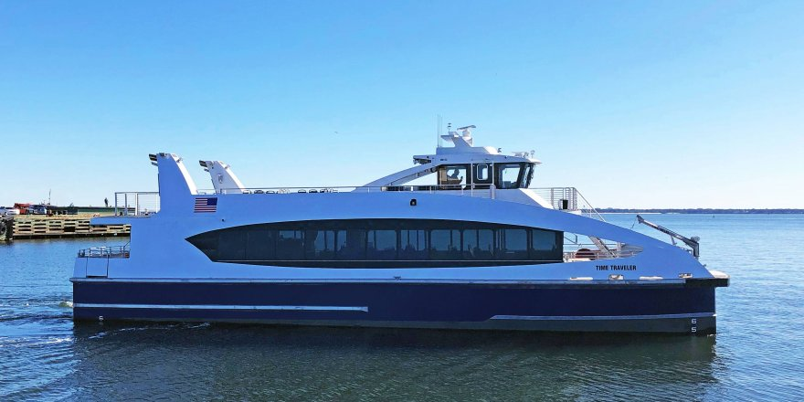 Metal Shark delivers last NYC Ferry