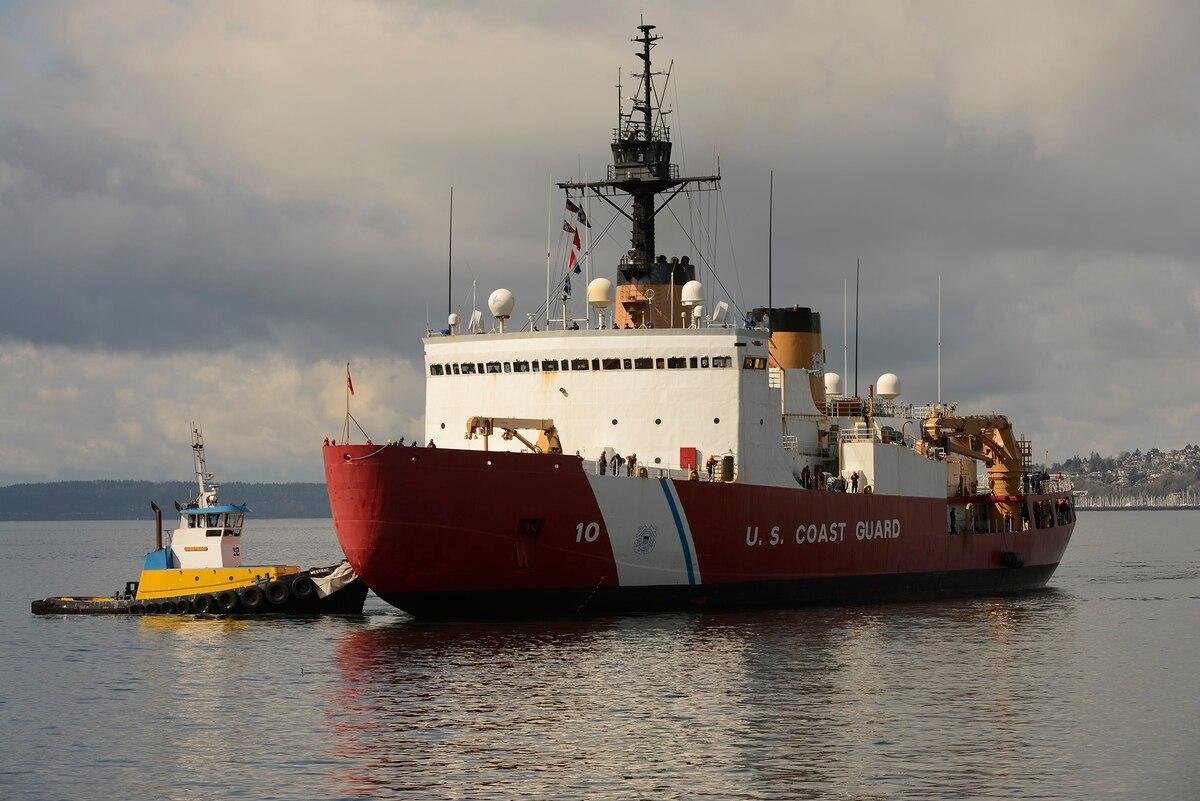 U.S. Coast Guard icebreaker heads to Arctic