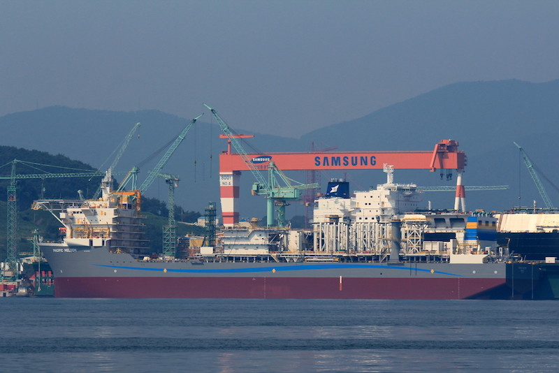 Samsung Heavy's LNG re-liquefaction system passes significant steps