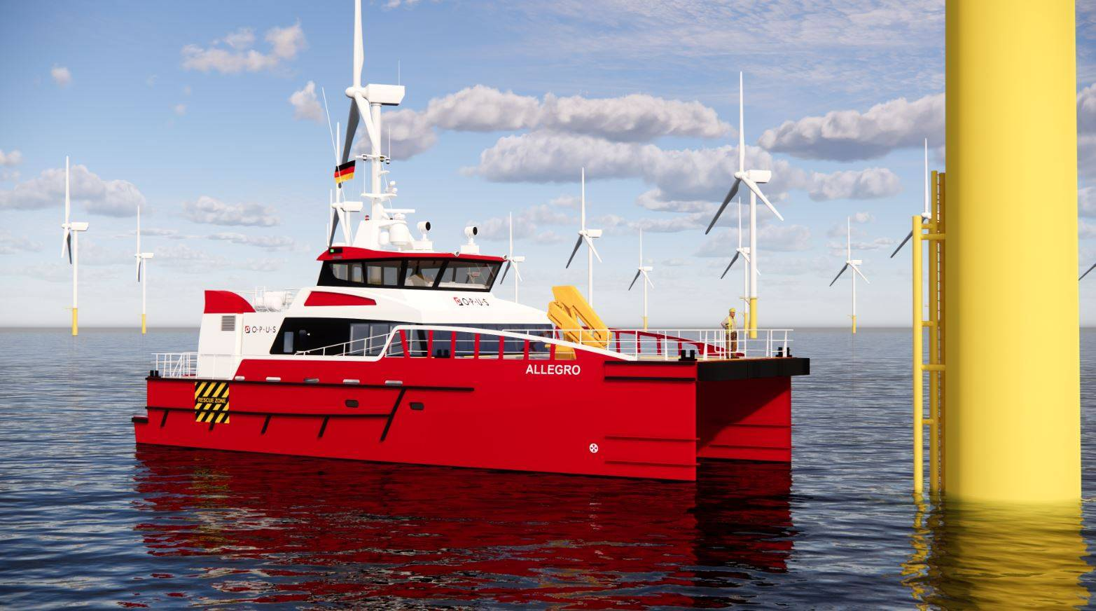 Opus Marine inks deal with Damen for fast crew supplier