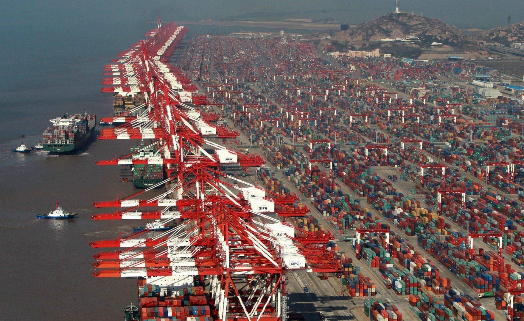 Exports from China surged 21% in November