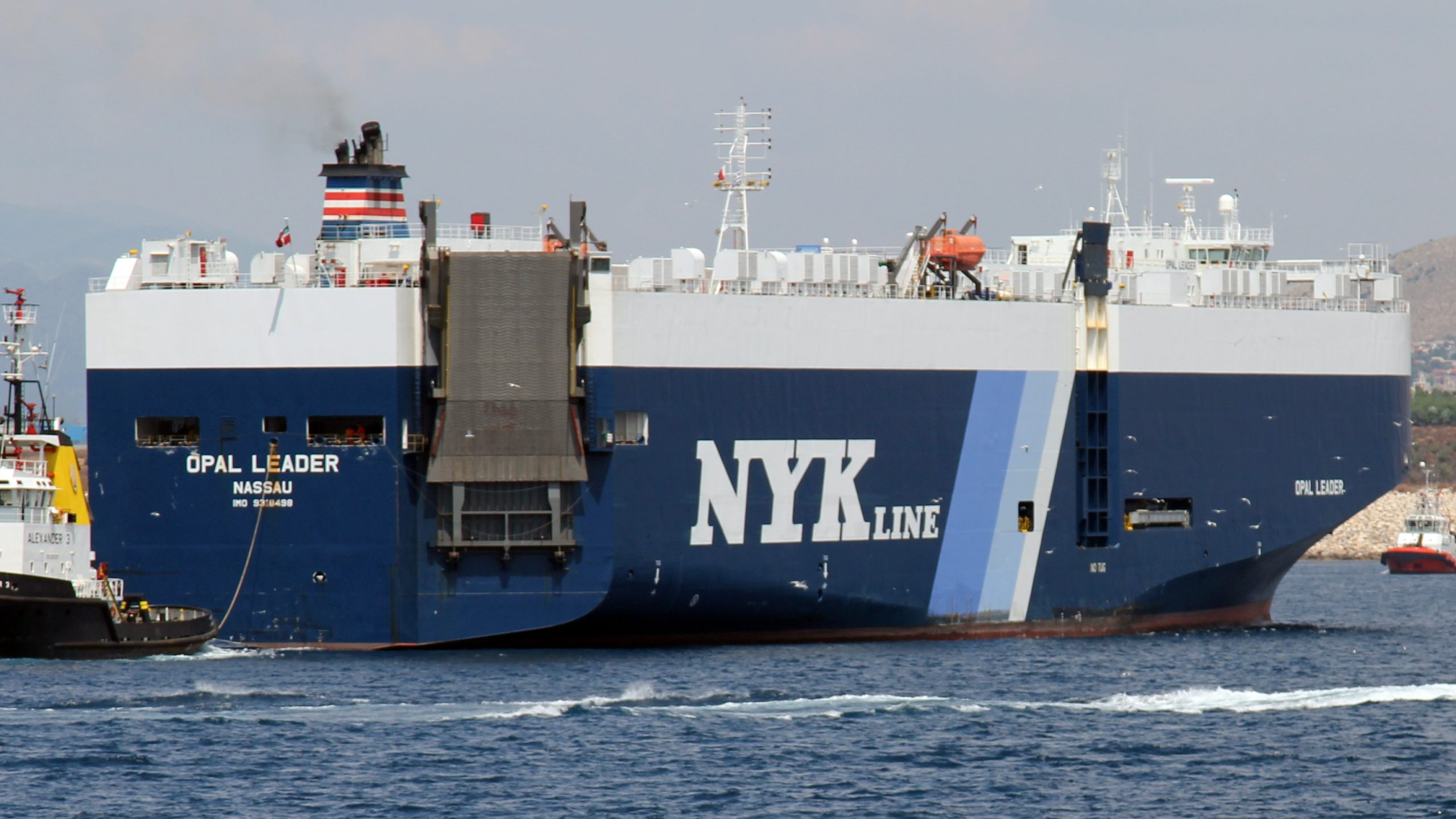 NYK tests remote navigation of tugboat for the second time