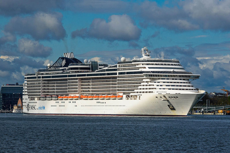 Four MSC ships to travel to Europe for Winter 2021-2022 session
