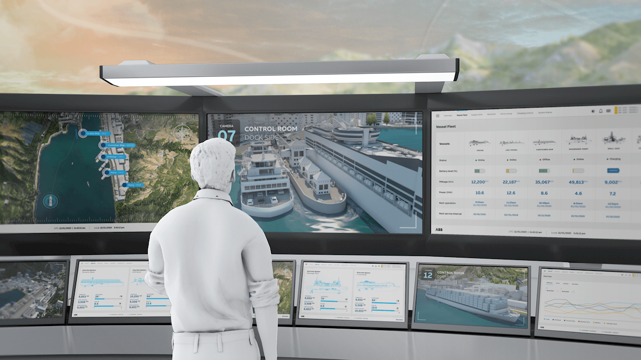 ABB Marine&Ports opens shipping cyber security laboratory