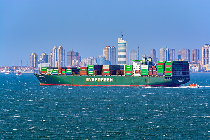 Evergreen Line receives delivery of two more 12,000 TEU ships