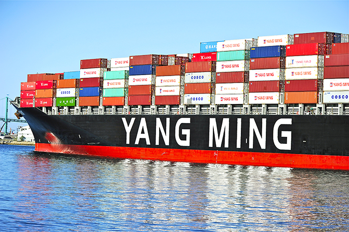 Yang Ming holds naming ceremony for its latest vessel