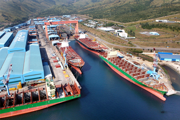 SM Line becomes a bidder to take over Hanjin Heavy