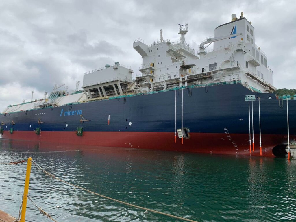 Minerva Psara LNG carrier completes sea and gas trials