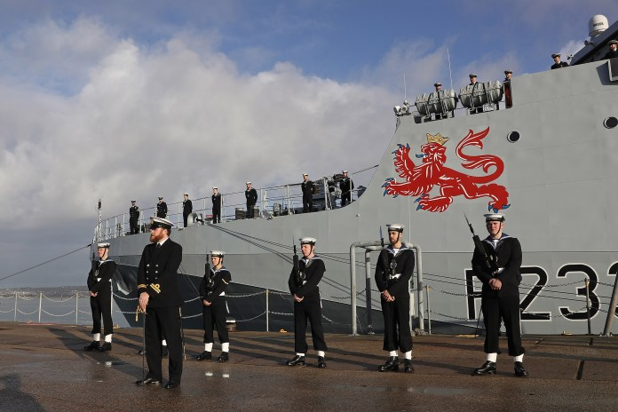 Royal Navy commissions fourth new River Class offshore patrol ship