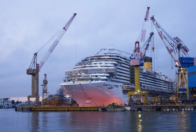 Costa Cruises receives delivery of new Costa Firenze from Fincantieri