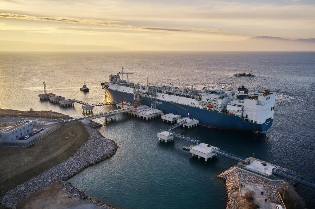 Croatia to receive its first LNG cargo