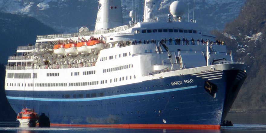 Marco Polo on its way to India for scrapping