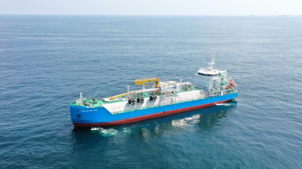Singapore to receive its first LNG bunkering vessel