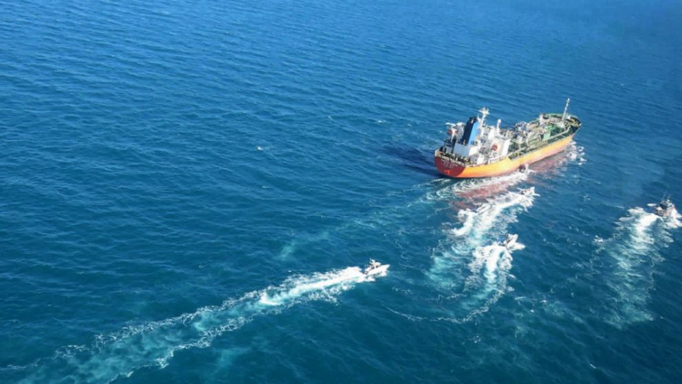 South Korean-flagged tanker seized by Iranian forces