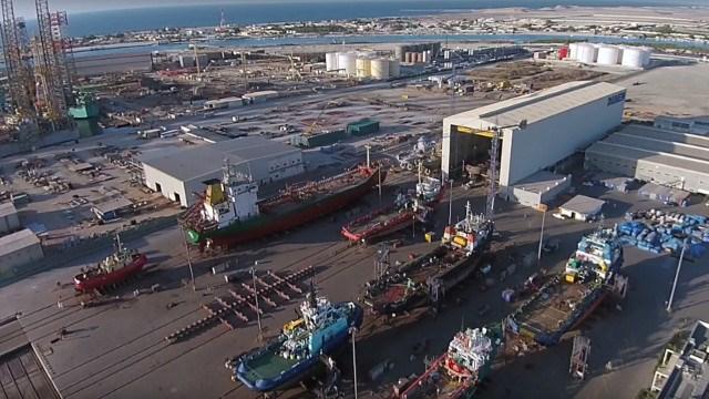 Damen Shiprepair to work on seven CMA CGM vessels
