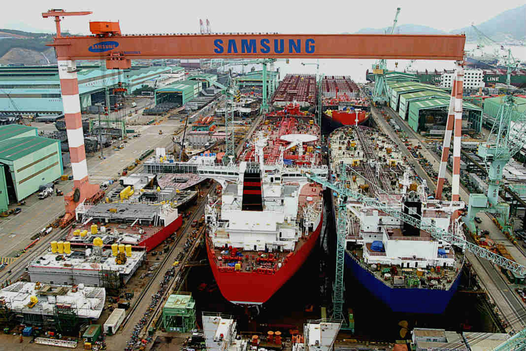 Samsung Heavy receives the first order of the year