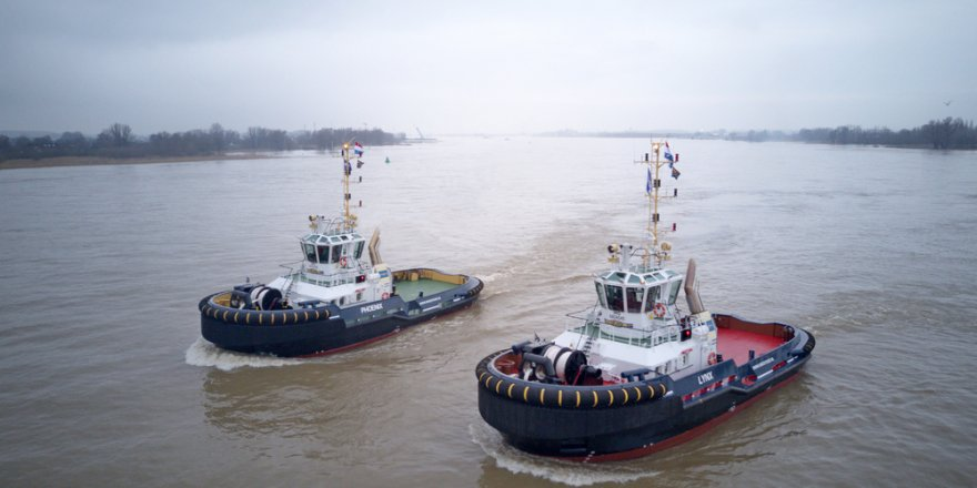 Iskes Towage & Salvage adds two more Damen ASD Tugs 2810 to its fleet