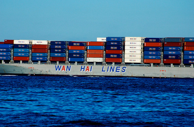 Wan Hai Lines receives 3,055 TEU container ship from Japan Marine United
