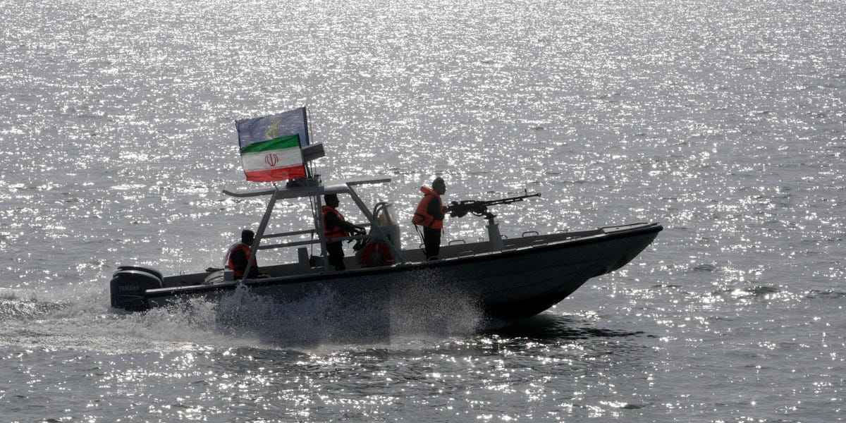 Iran's Revolutionary Guard Corps conducts naval parade in Persian Gulf