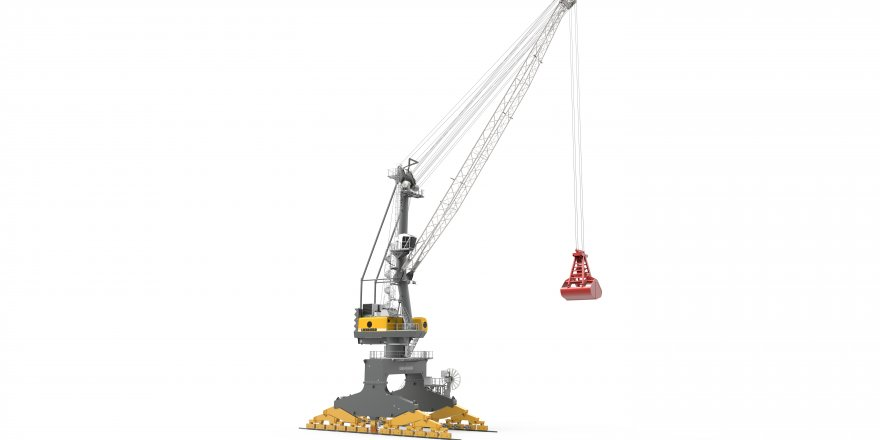 Purely Electrical Portal Crane