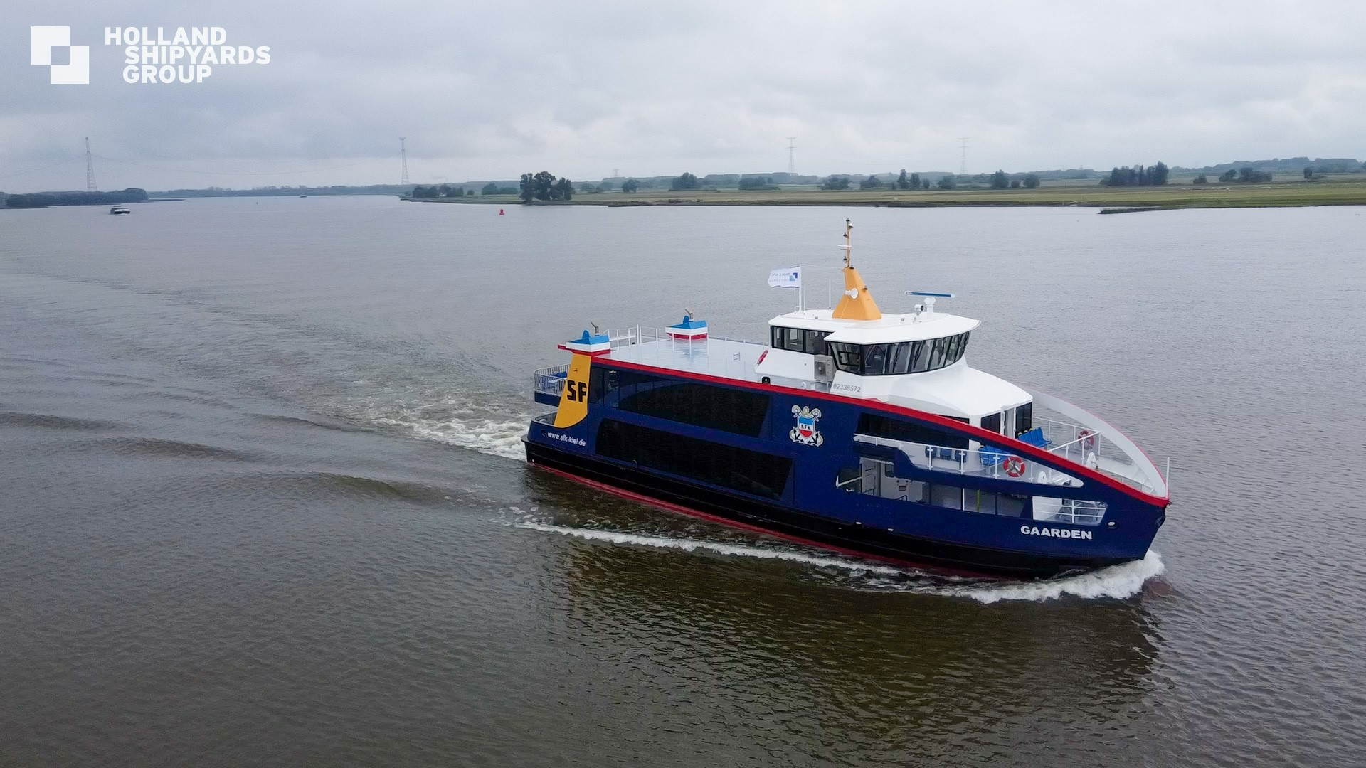 Holland Shipyards to build three additional hybrid ferries for SFK
