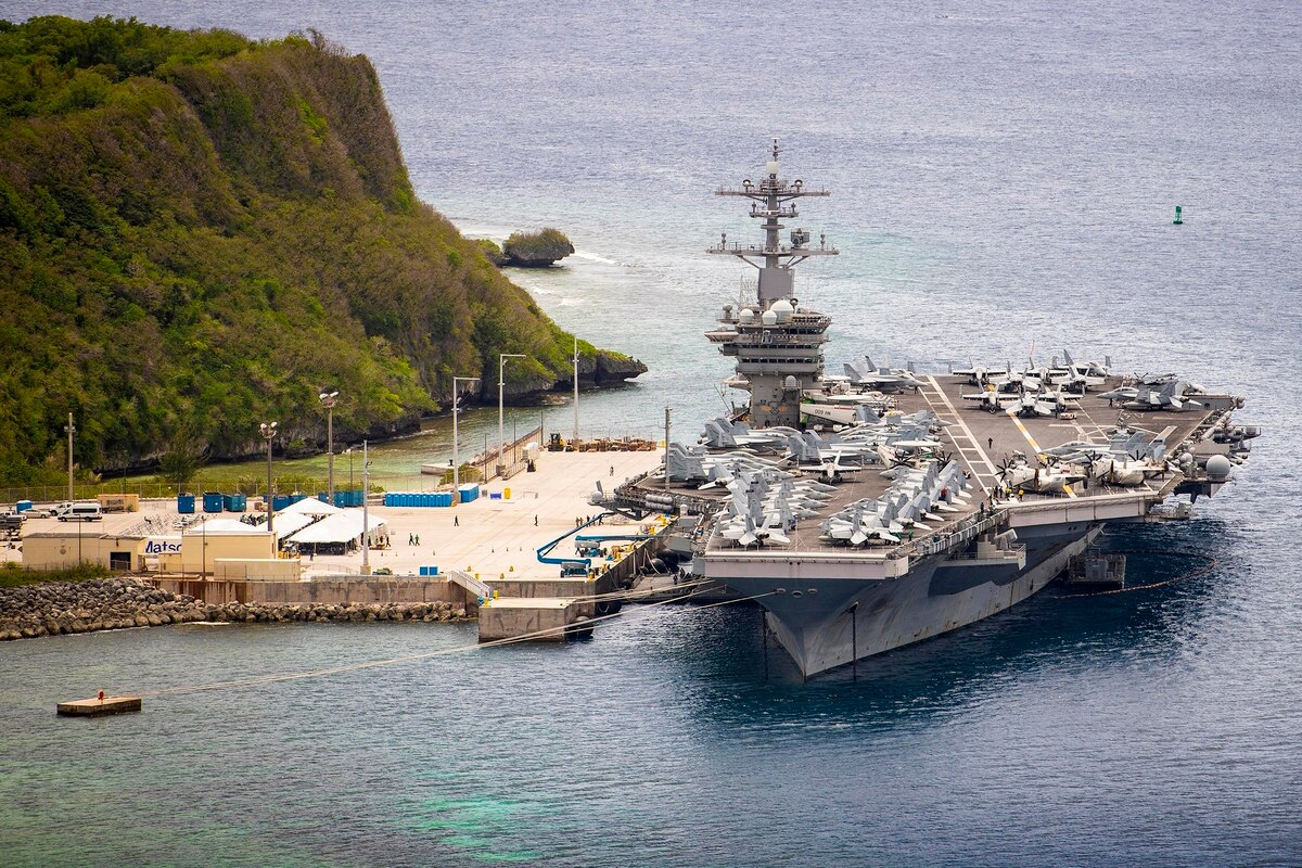 Guam hosts anti-submarine warfare exercise Sea Dragon 2021