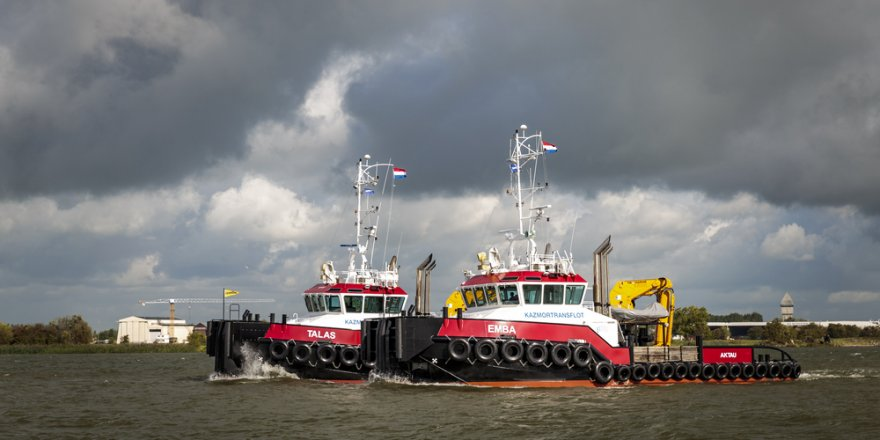Kazmortransflot LLP takes delivery of final Damen