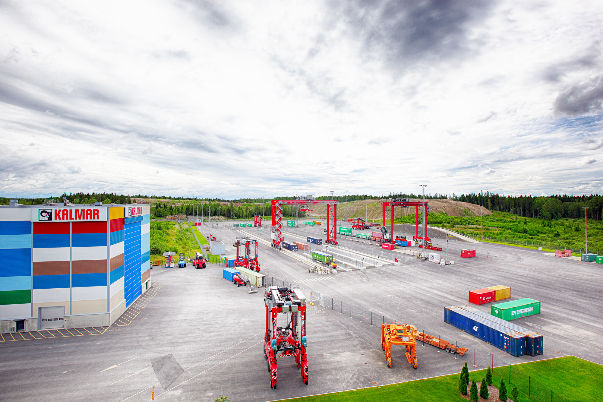 Kalmar and Nokia continues their partnership in terminal automation