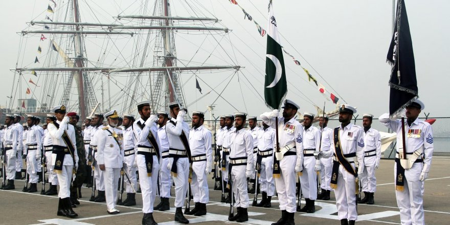 Pakistan Navy conducts live firing drill in North Arabian Sea