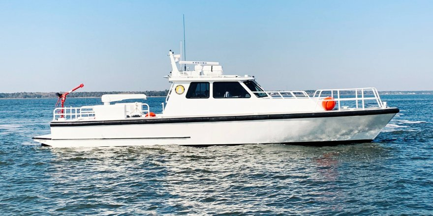 University of Southern Mississippi converted patrol boat into research vessel