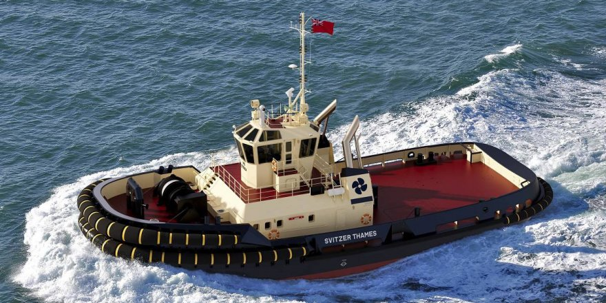 Damen Shipyards signs contract with Svitzer for new tug of Port of London