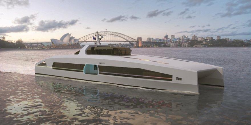 Austal Australia unveils VOLTA series