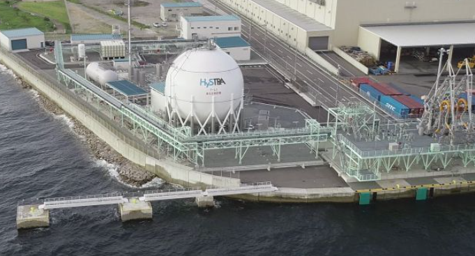 Kawasaki Heavy to build world's 1st liquefied hydrogen receiving terminal
